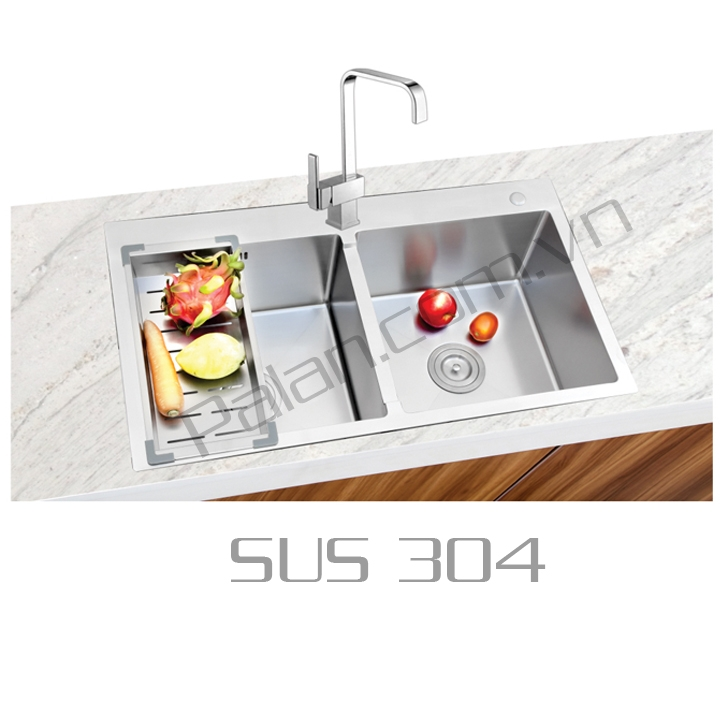 Chậu Rửa EU - 835T - SUS 304
